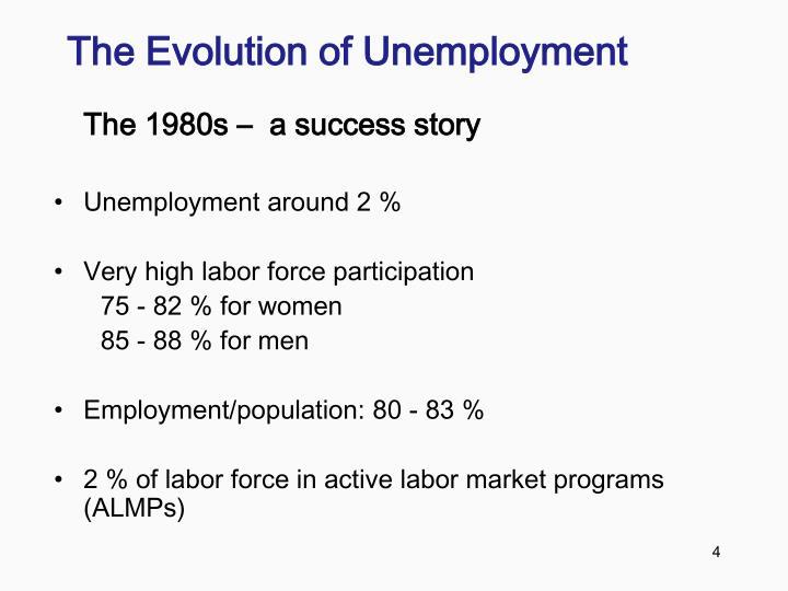 The Evolution of Unemployment