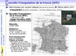 n ouvelle triangulation de la france ntf
