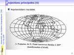 p rojections principales 4
