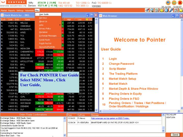 For Check POINTER User Guide