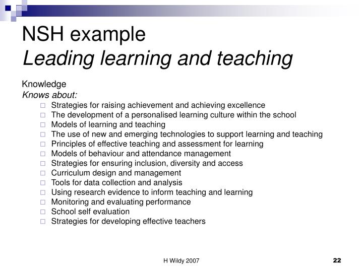 NSH example