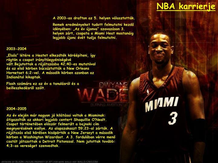 NBA karrierje