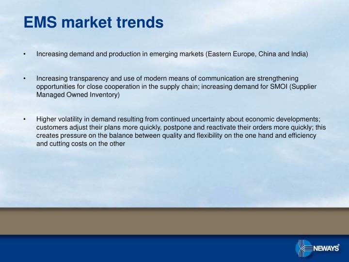 EMS market trends