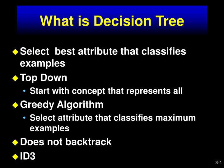What is Decision Tree