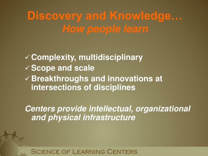 Complexity, multidisciplinary