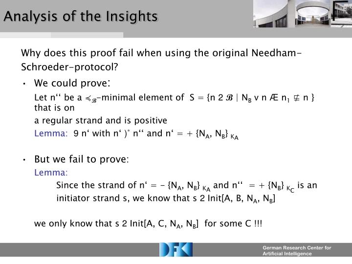 Analysis of the Insights