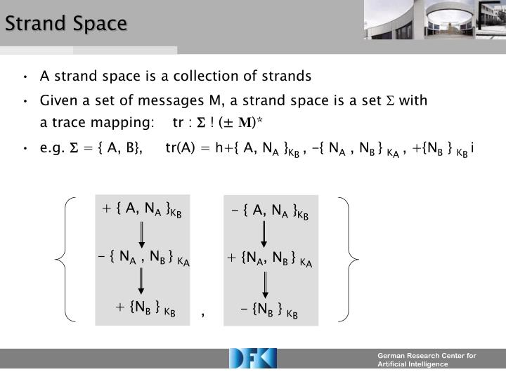 Strand Space