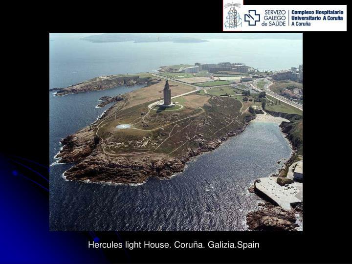 Hercules light House. Coruña. Galizia.Spain