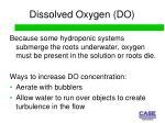 dissolved oxygen do