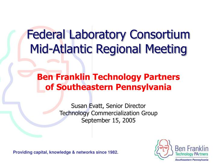 Federal laboratory consortium mid atlantic regional meeting