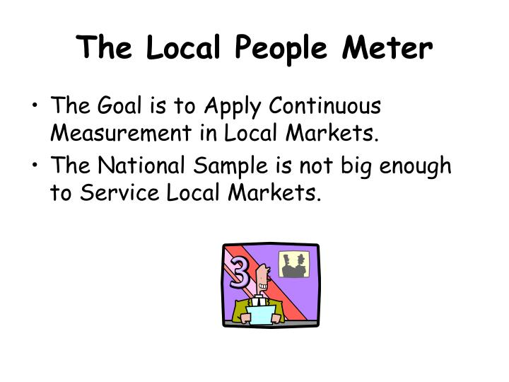 The Local People Meter