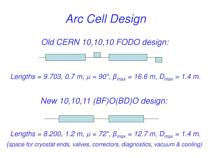 Arc Cell Design