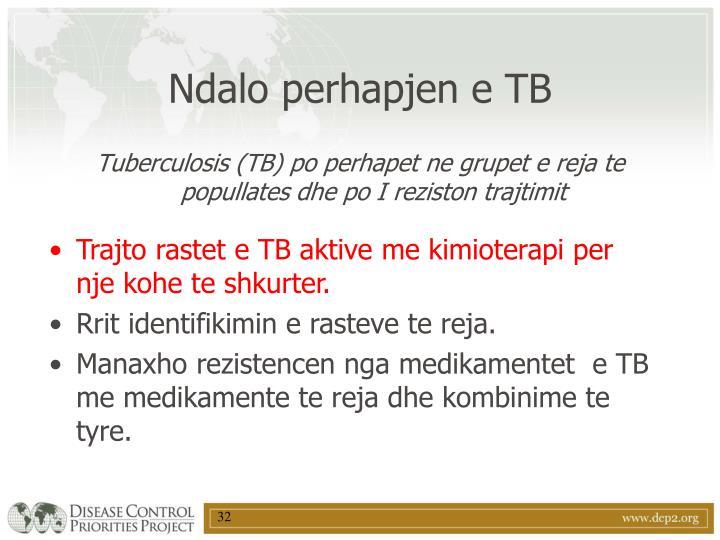 Ndalo perhapjen e TB
