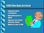 ccd film data archival