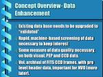 concept overview data enhancement