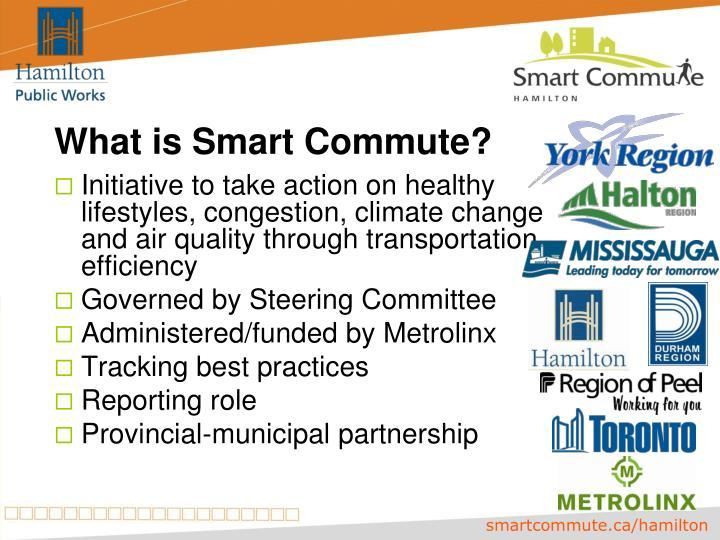 What is smart commute