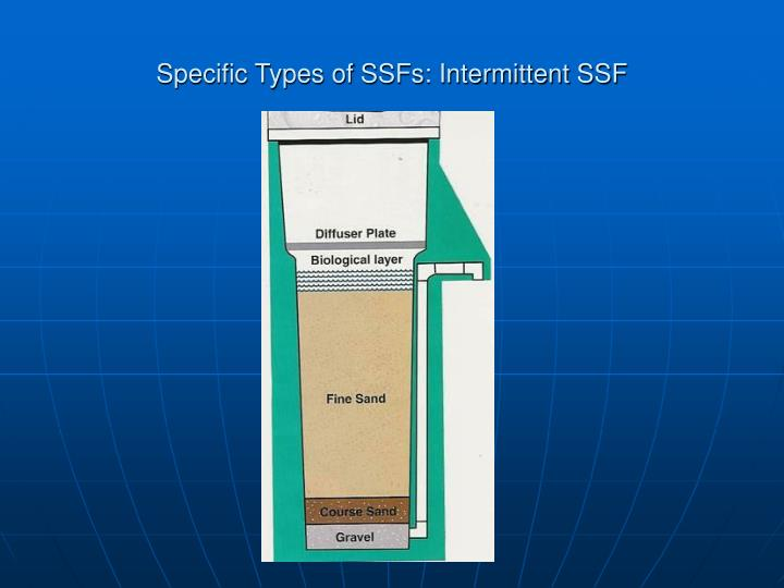 Specific Types of SSFs: Intermittent SSF