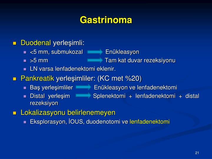 Gastrinoma