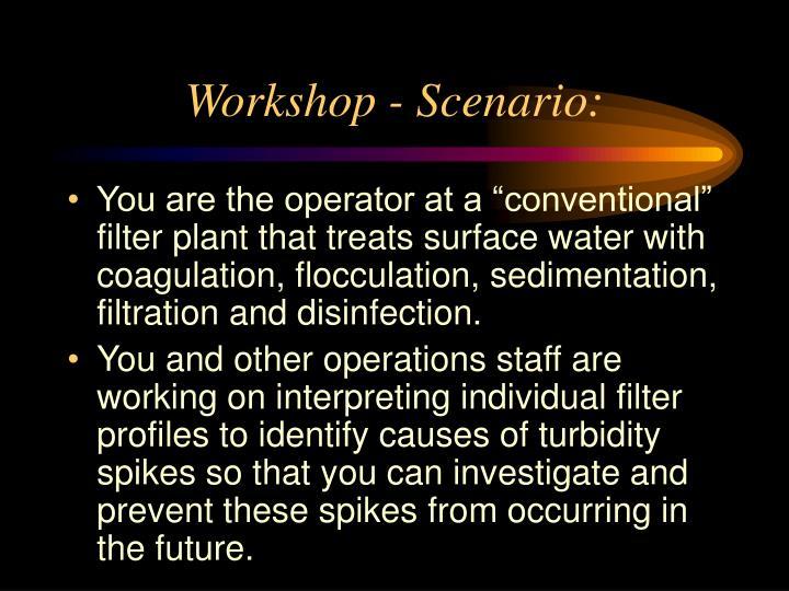 Workshop - Scenario: