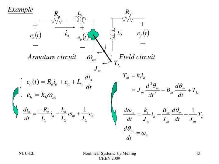 Armature circuit