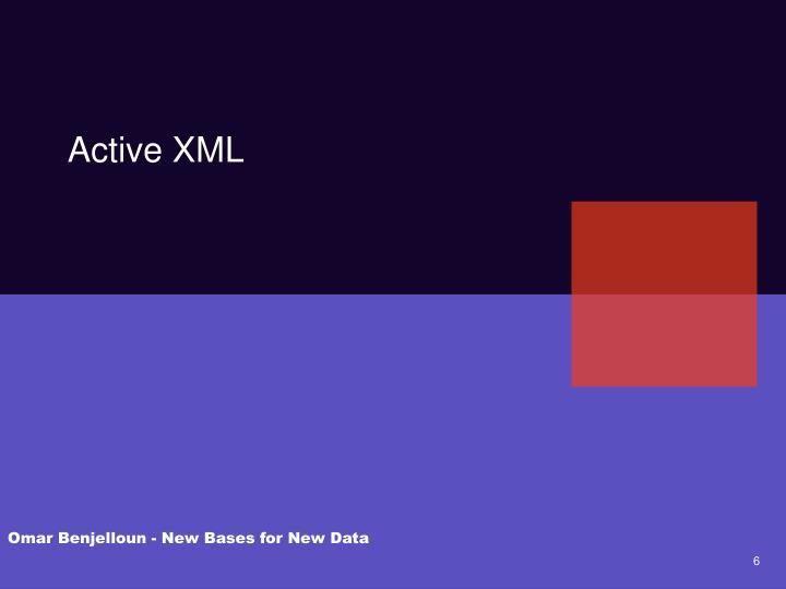 Active XML