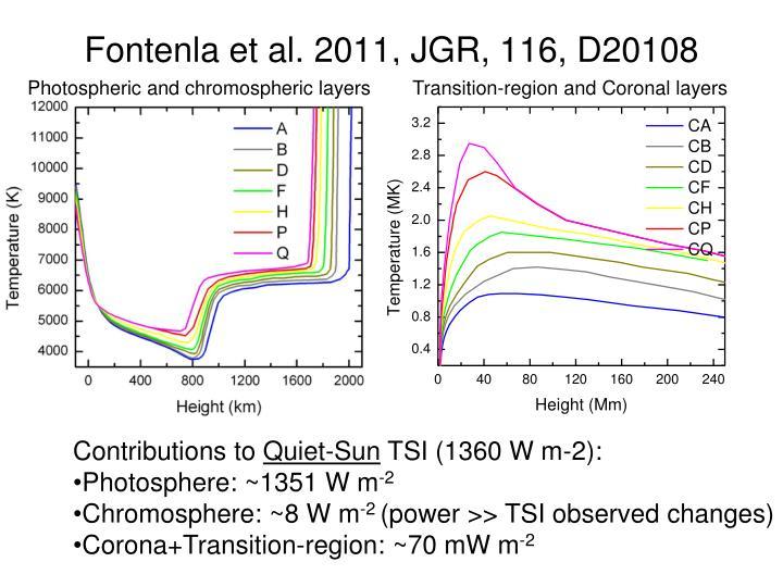 Fontenla et al. 2011, JGR, 116, D20108
