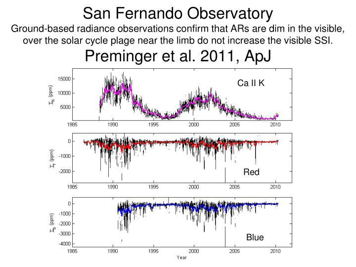 San Fernando Observatory