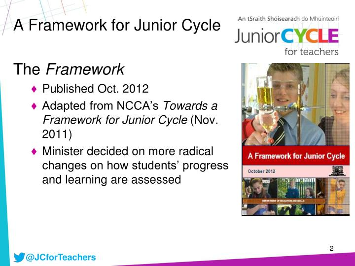 A framework for junior cycle