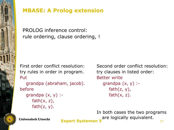 MBASE: A Prolog extension