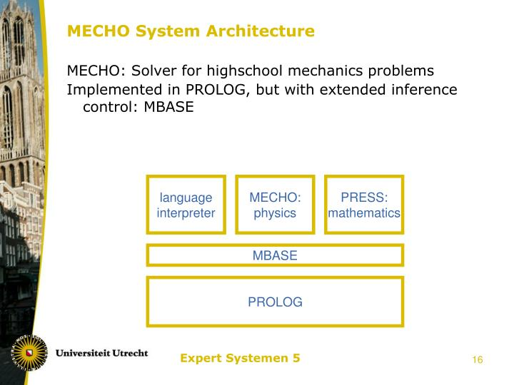 MECHO System Architecture