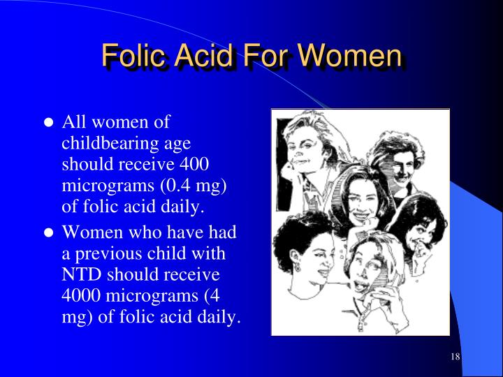 Folic Acid For Women