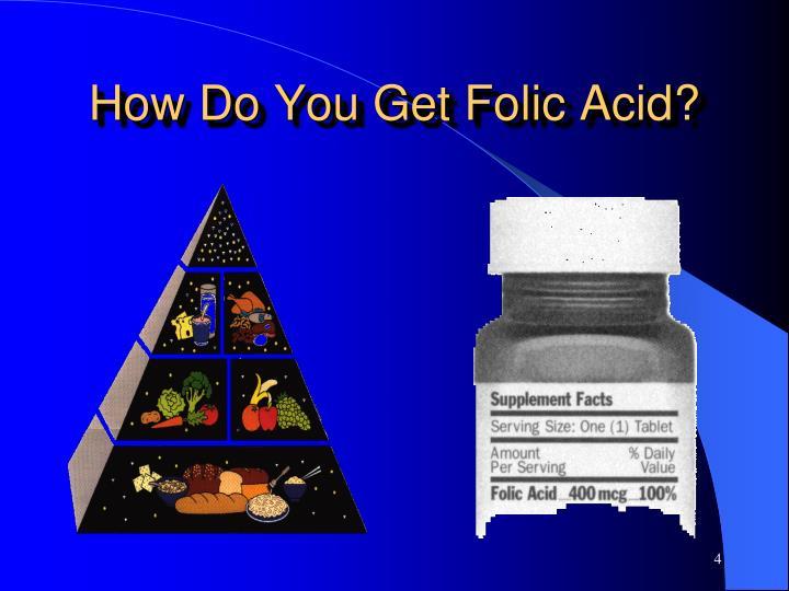 How Do You Get Folic Acid?