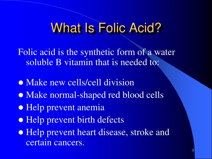 What Is Folic Acid?
