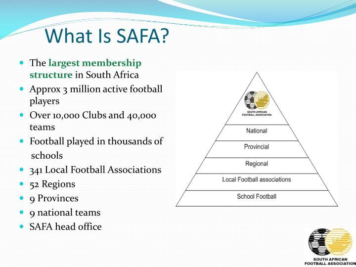What Is SAFA?