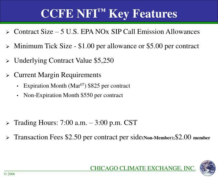 CCFE NFI
