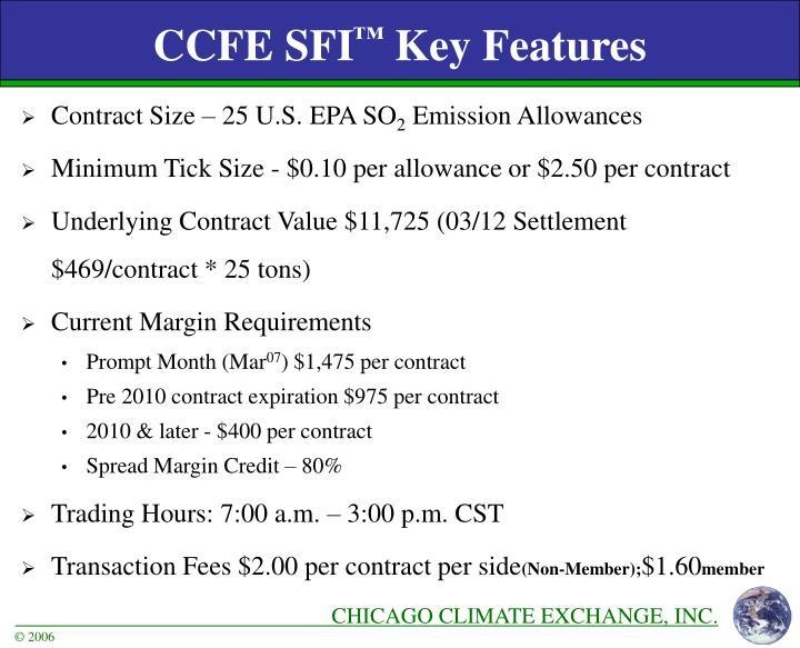 CCFE SFI