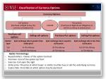 classification of currency options