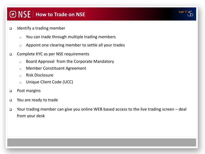 Identify a trading member