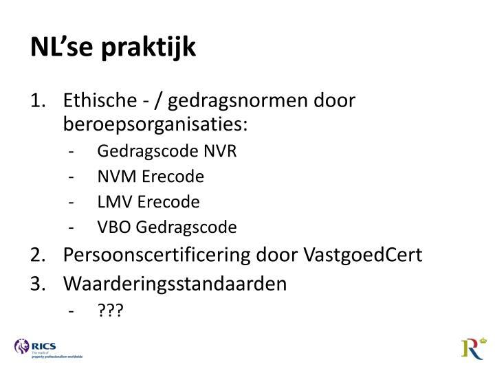 NL'se praktijk