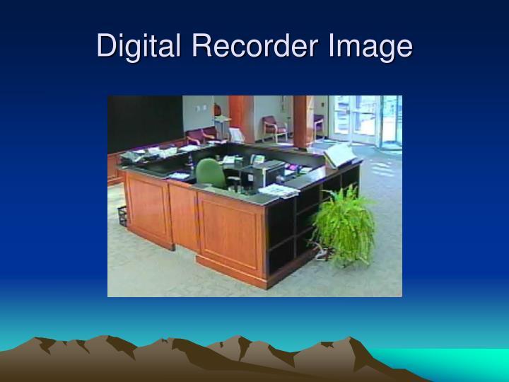 Digital Recorder Image