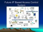 future ip based access control system