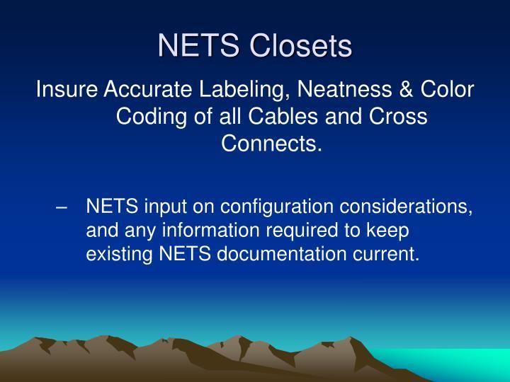 NETS Closets