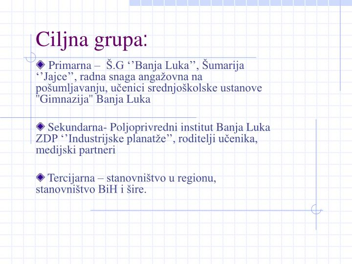 Ciljna grupa