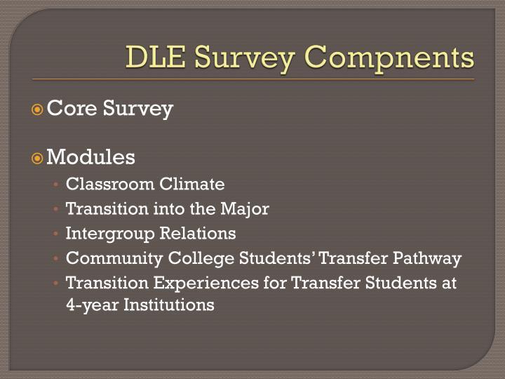 DLE Survey