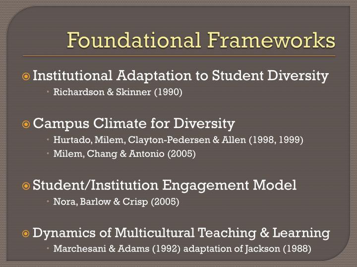 Foundational Frameworks