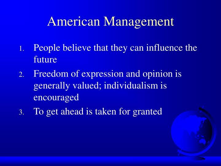 American Management