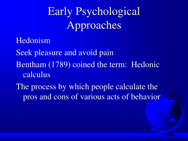 Early Psychological