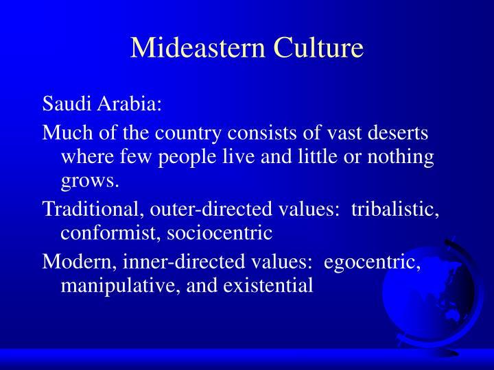 Mideastern Culture