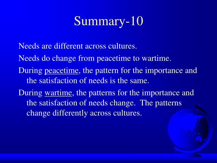 Summary-10