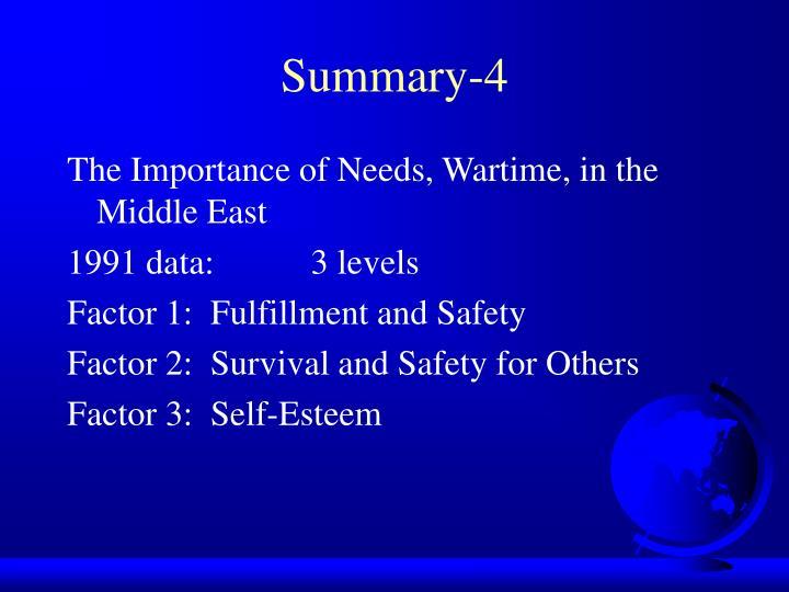 Summary-4